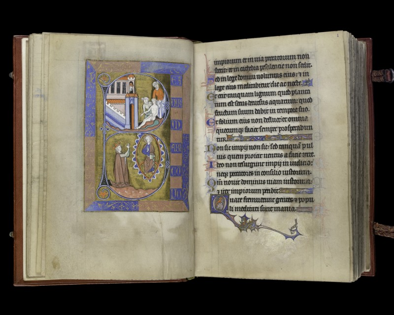 The Psalter-Hours of Isabelle of France